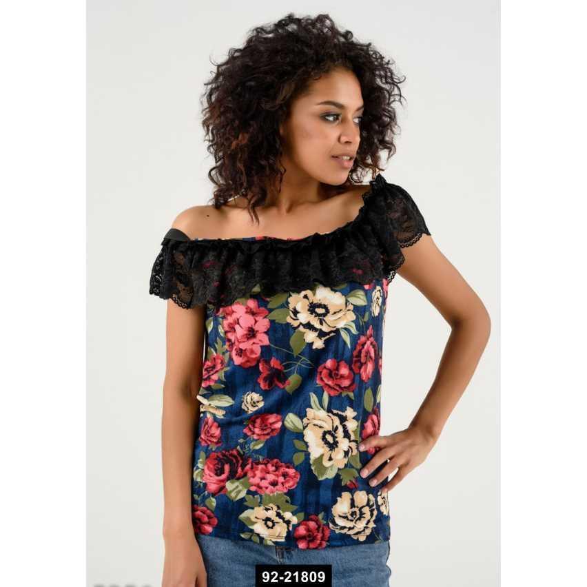 Женская блуза, M-S международный размер, 92-21809