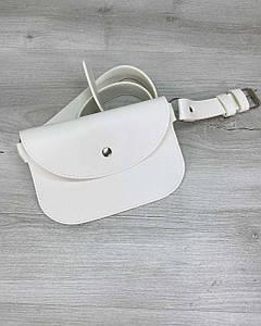 Жіноча сумка Kim біла