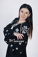 Вышитое платье лен бохо вышиванка,черный лен, этно, бохо-стиль, вишите плаття, Bohemian