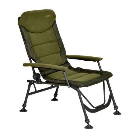 Кресло карповое рыбацкое Elektrostatyk FK7 2020 комфортное. Premium Aluminium SUPRA  FK7