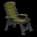 Кресло карповое рыбацкое Elektrostatyk FK7 2020 комфортное. Premium Aluminium SUPRA  FK7, фото 5
