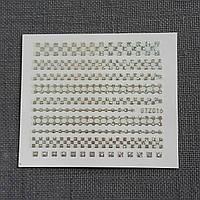 Наклейка для ногтей STZ-016