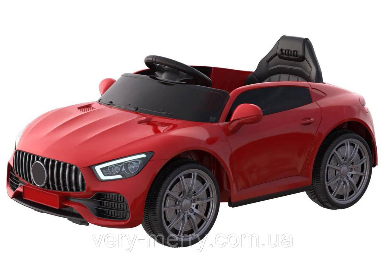 Дитячий електромобіль Ferrari (червоний колір) з пультом дистанційного управління