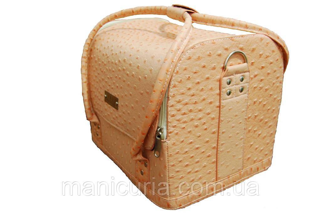 Кейс для мастера, чемодан. Нежно-персиковый. - Интернет-магазин «Маникюрия» в Киеве