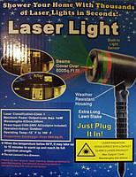 Лазерный проектор Laser Light точки лазерные красный + зеленый цвет освещения, фото 2