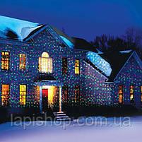 Лазерный проектор Laser Light точки лазерные красный + зеленый цвет освещения, фото 3
