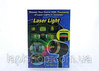 Лазерный проектор Laser Light точки лазерные красный + зеленый цвет освещения, фото 5