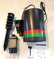 Лазерный проектор Laser Light точки лазерные красный + зеленый цвет освещения, фото 7