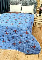 Стеганое покрывало на подростковую кровать Человек Паук 150*200