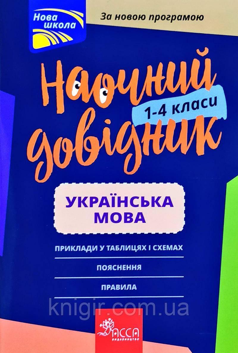 Українська мова 1-4 класи Наочний довідник