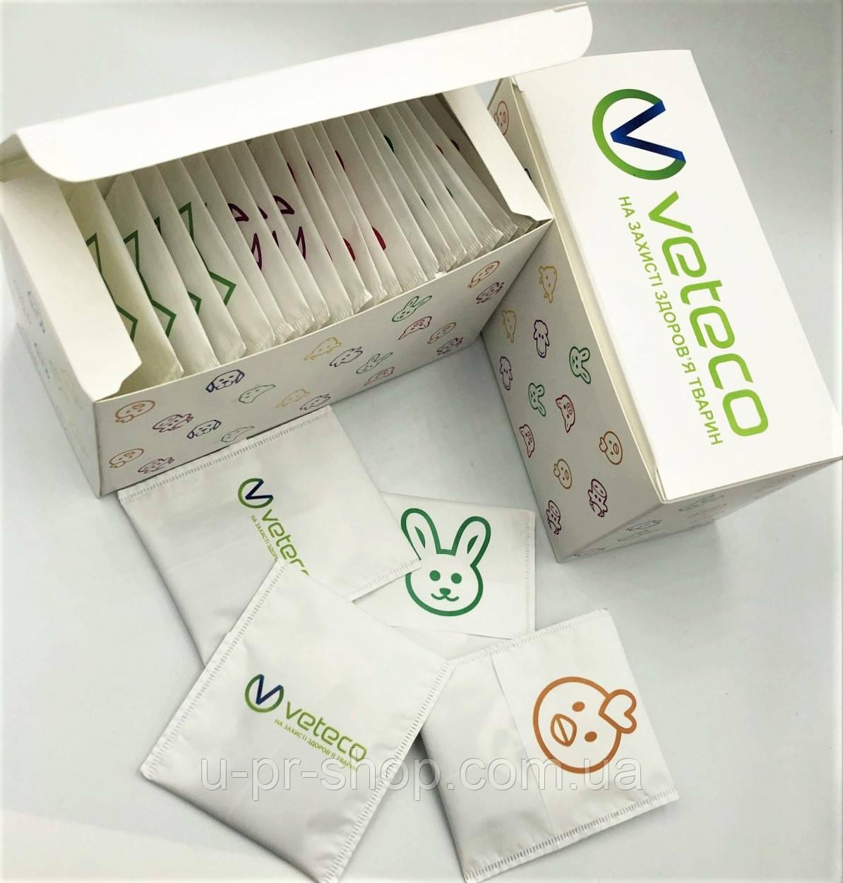 Коробка с пакетиками чай от 100шт