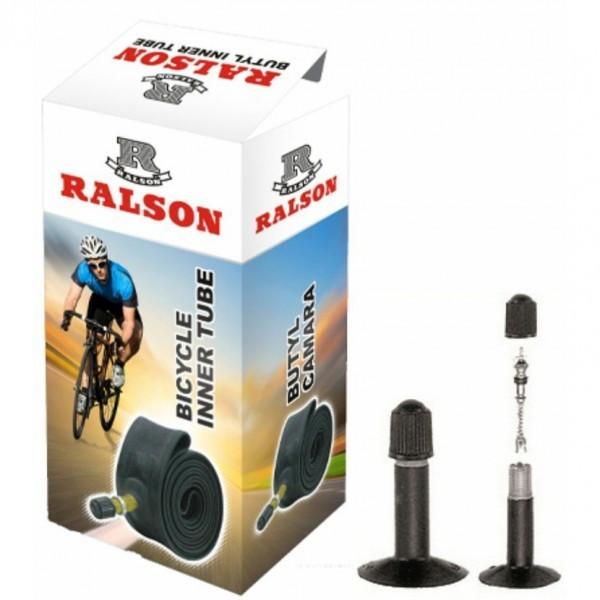 """Велокамера 20"""" x2,125 AV RALSON"""