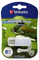 Флешка VERBATIM USB Drive 8Gb STORENGO MINI GOLF 98510