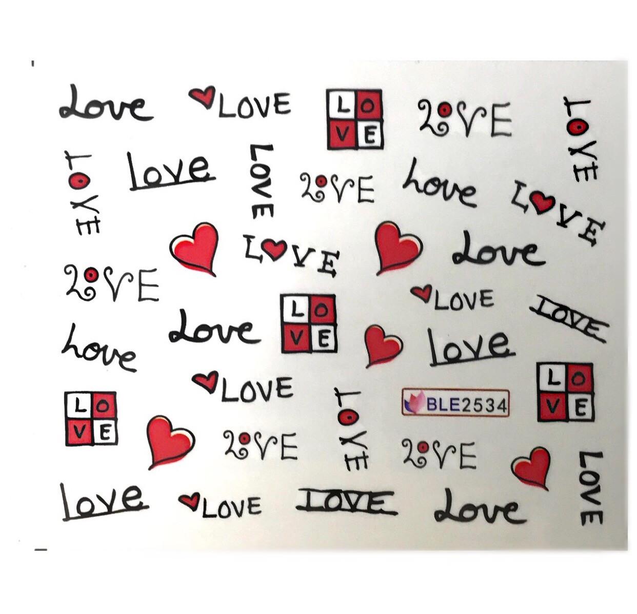 Слайдер Love BLE 2534
