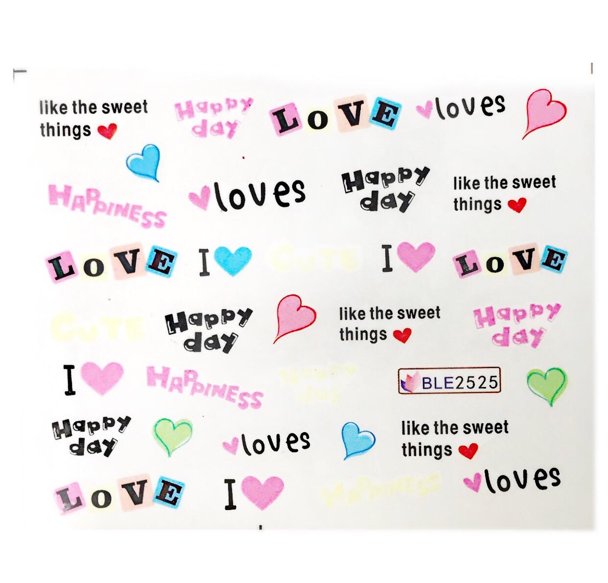 Слайдер Love BLE 2525