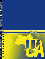 Тетрадь для записей MY COUNTRY, А5, 96 л., клетка, твердая обложка, фото 2