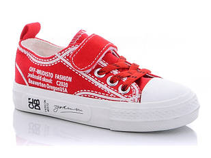 Кеды для девочки Comfort-baby светящейся 28 Красный (487490)