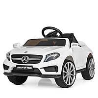 Детский электромобиль Машина Mercedes-AMG M 3995-1 Белый для девочки мальчика  2 3 4 5 6 лет машинка Мерседес