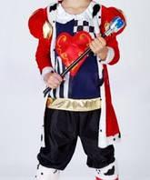 Карнавальный костюм Король сердец, без посоха, 87256