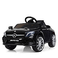 Детский электромобиль Машина Mercedes-AMG M 3995-1 Черный для девочки мальчика  2 3 4 5 6 лет машинка Мерседес