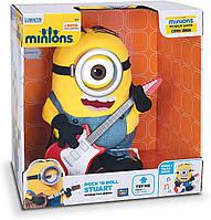 Інтерактивна іграшка – міньйон Стюарт з гітарою Despicable Me Talking Minion Toy - Stuart