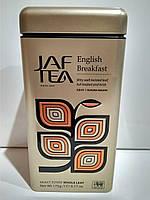 Подарочный чай Джаф JAF TEA Английский завтрак 175г в жестяной банке