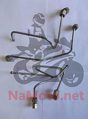Топливопровод от насоса к форсунке (комп. 4поз) 4L22BT