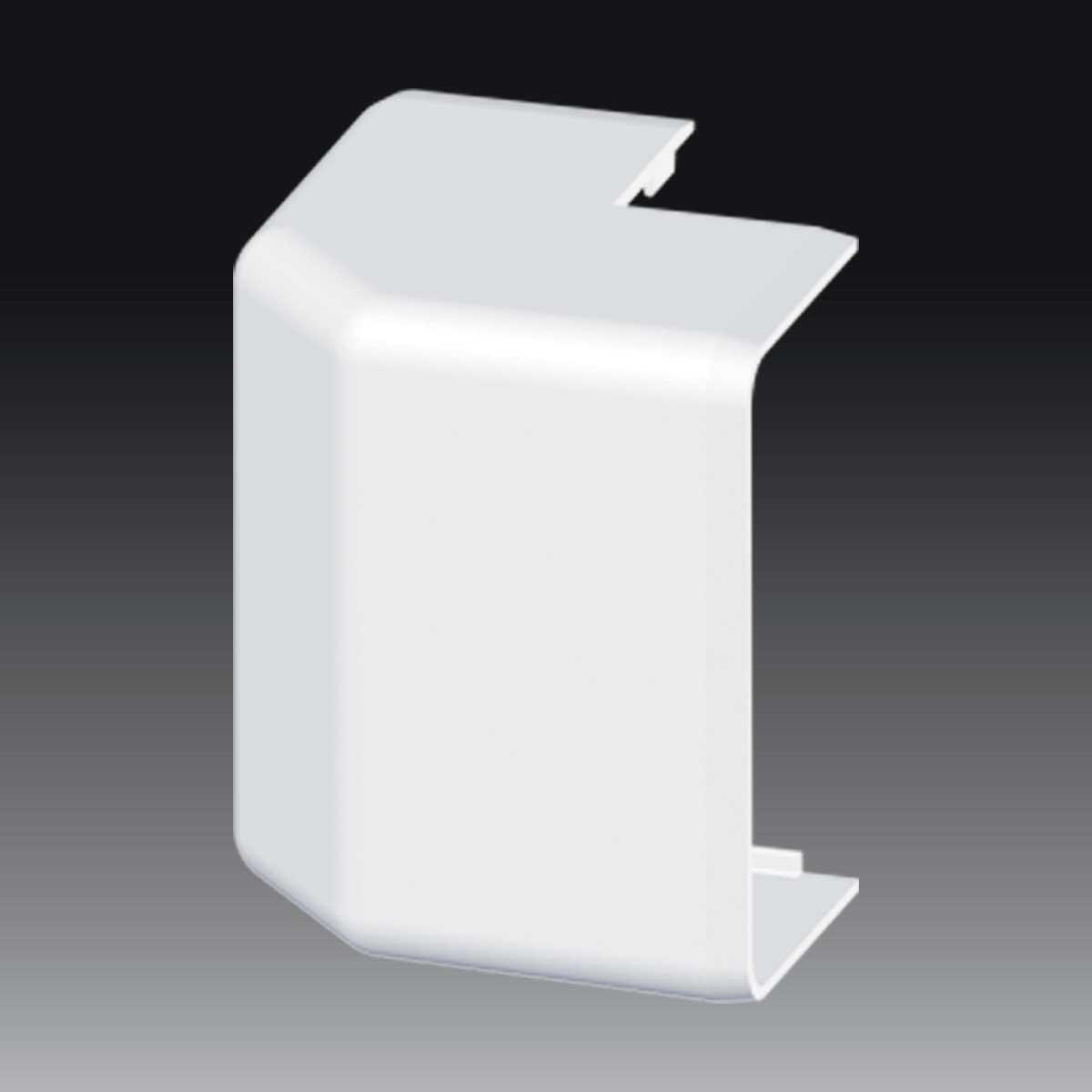 Кут зовнішній (регульований) для EKD 80х40 HF; Безгалогенний; HF
