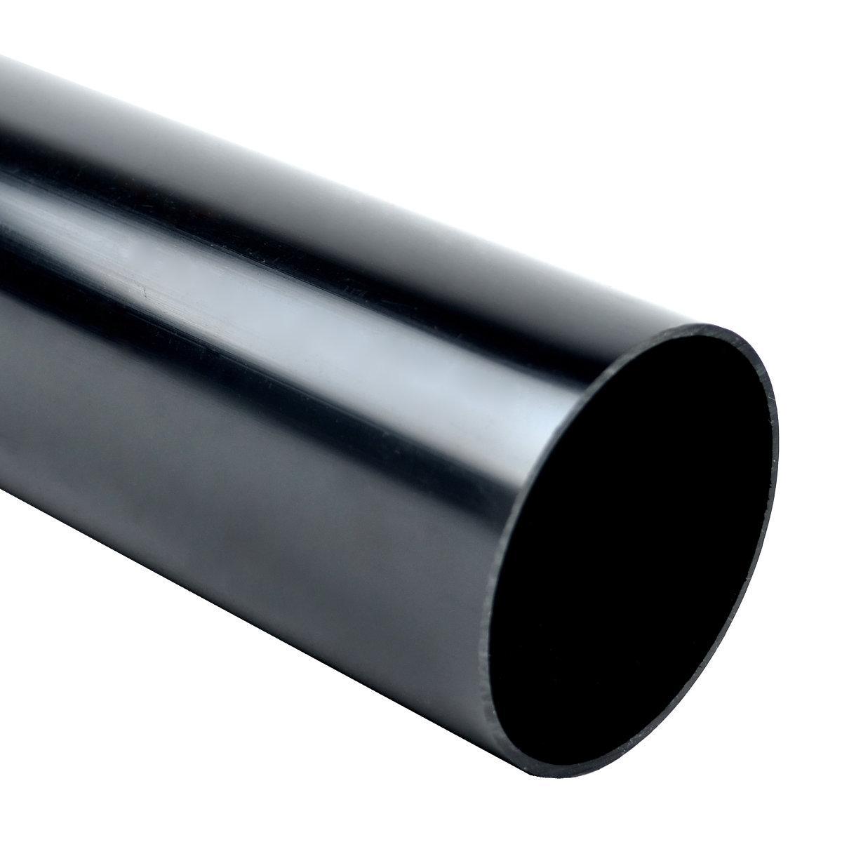 Труба жорстка 320 N/5см з раструбом для з'єднання; Ø50ммУФ-стійкі; полікарбонат; безгалогенна; t застосування -45-90 °с; чорна; Упаковка 30 шт