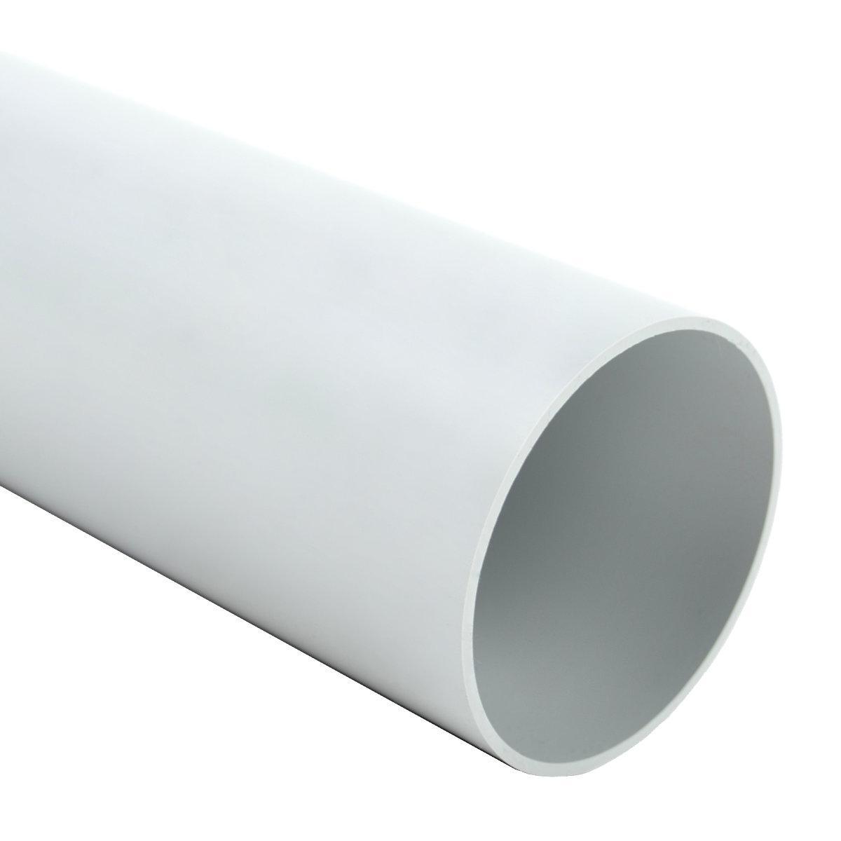 Труба жорстка 320 N/5см з раструбом для з'єднання; Ø63мм; полікарбонат; безгалогенна; t застосування -45-90 °с; світло-сіра; Упаковка 15 шт