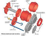 Гак для кріплення люстри  монолітне бетонобудування; 100мм, фото 7