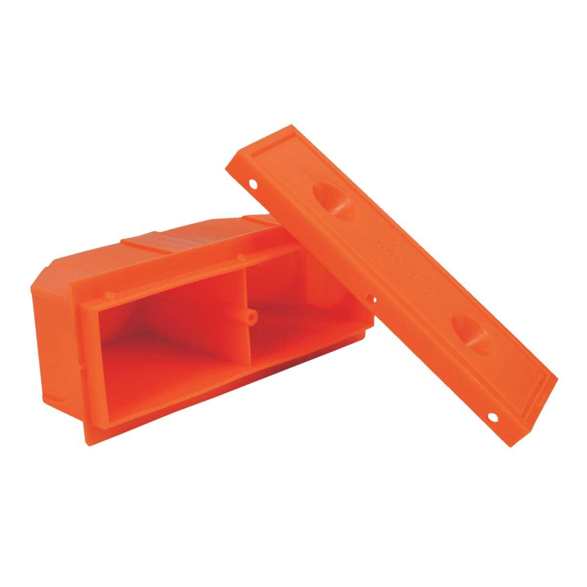 Коробка щитова монолітне бетонобудування; 36х56х120мм