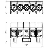 Клемна колодка  для коробок KSK 80, KSK 100 , фото 2