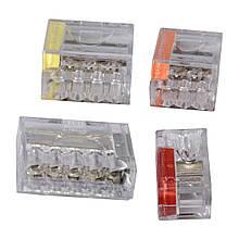 Клемник  3х2,5 мм; напруга до 400 V; січення кабелю до 2,5мм;  ток до 16А