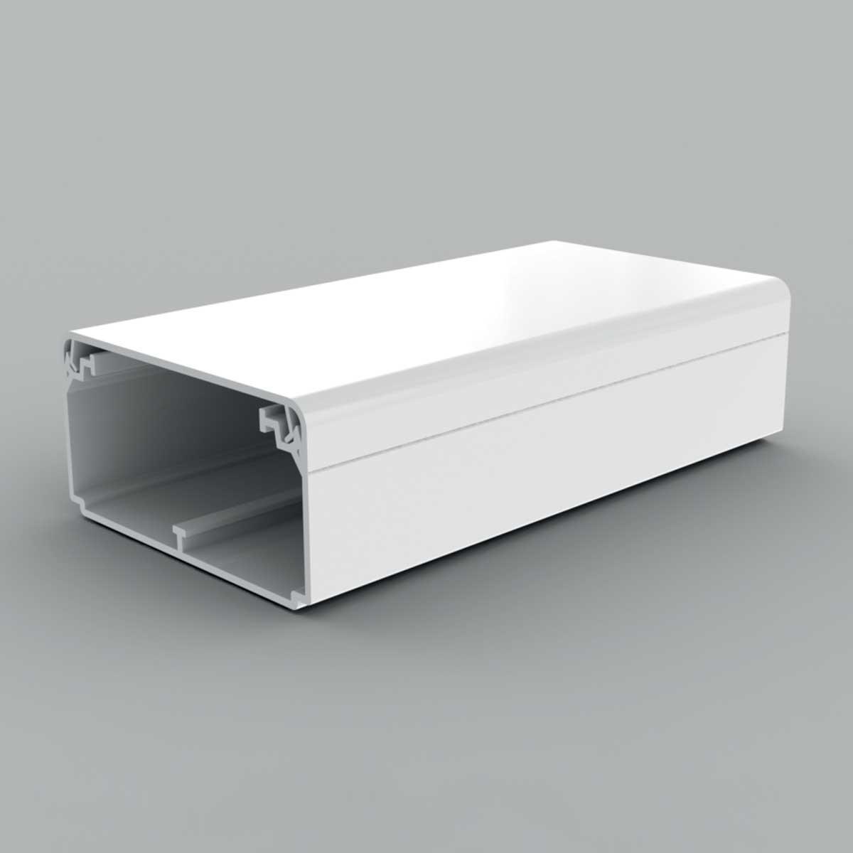 Кабельний канал білого кольору  80х40мм; Серія EKD; ПВХ