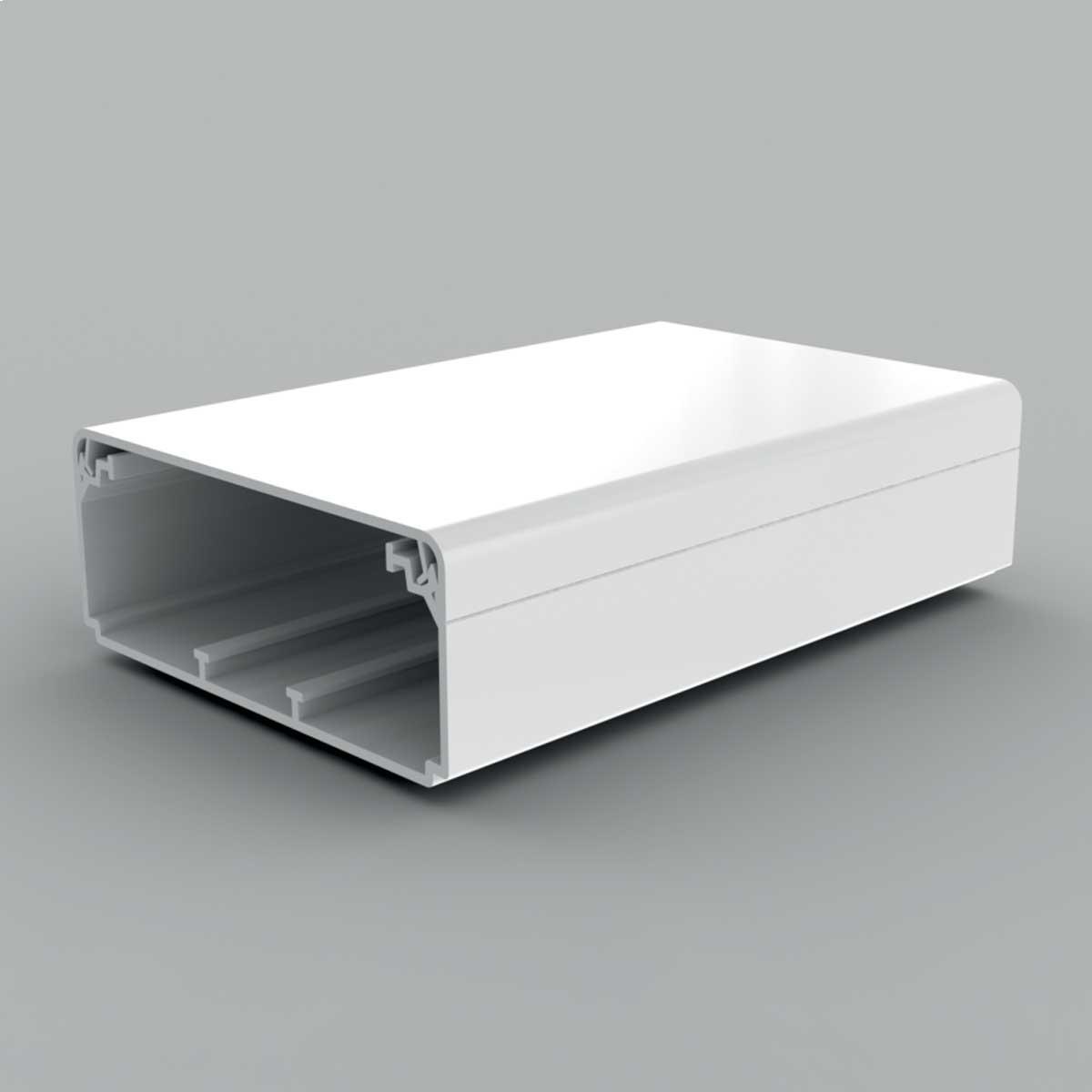 Кабельний канал білого кольору  100х40мм; Серія EKD; ПВХ