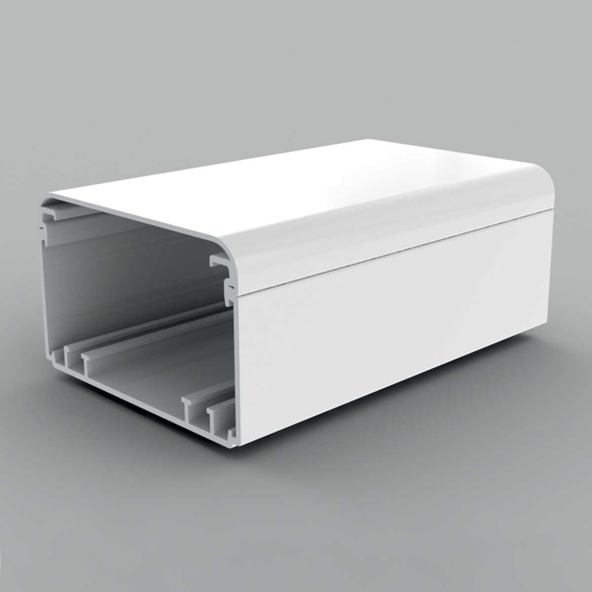Кабельний канал білого кольору  100х60мм; Серія EKЕ; ПВХ