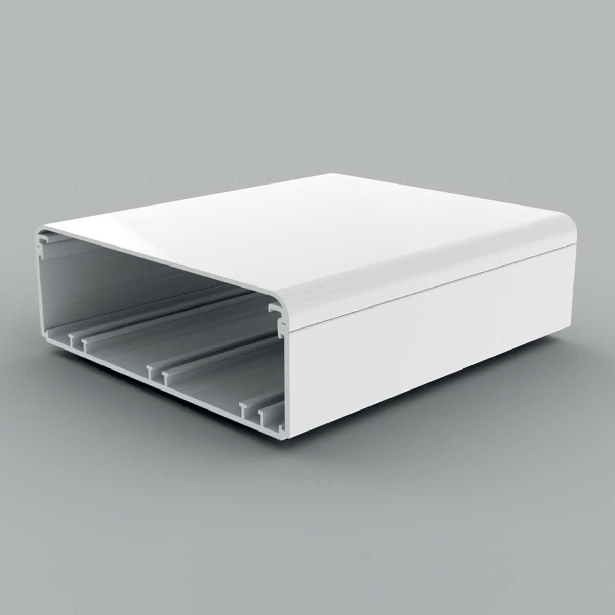 Кабельний канал білого кольору  180х60мм; Серія EKЕ; ПВХ