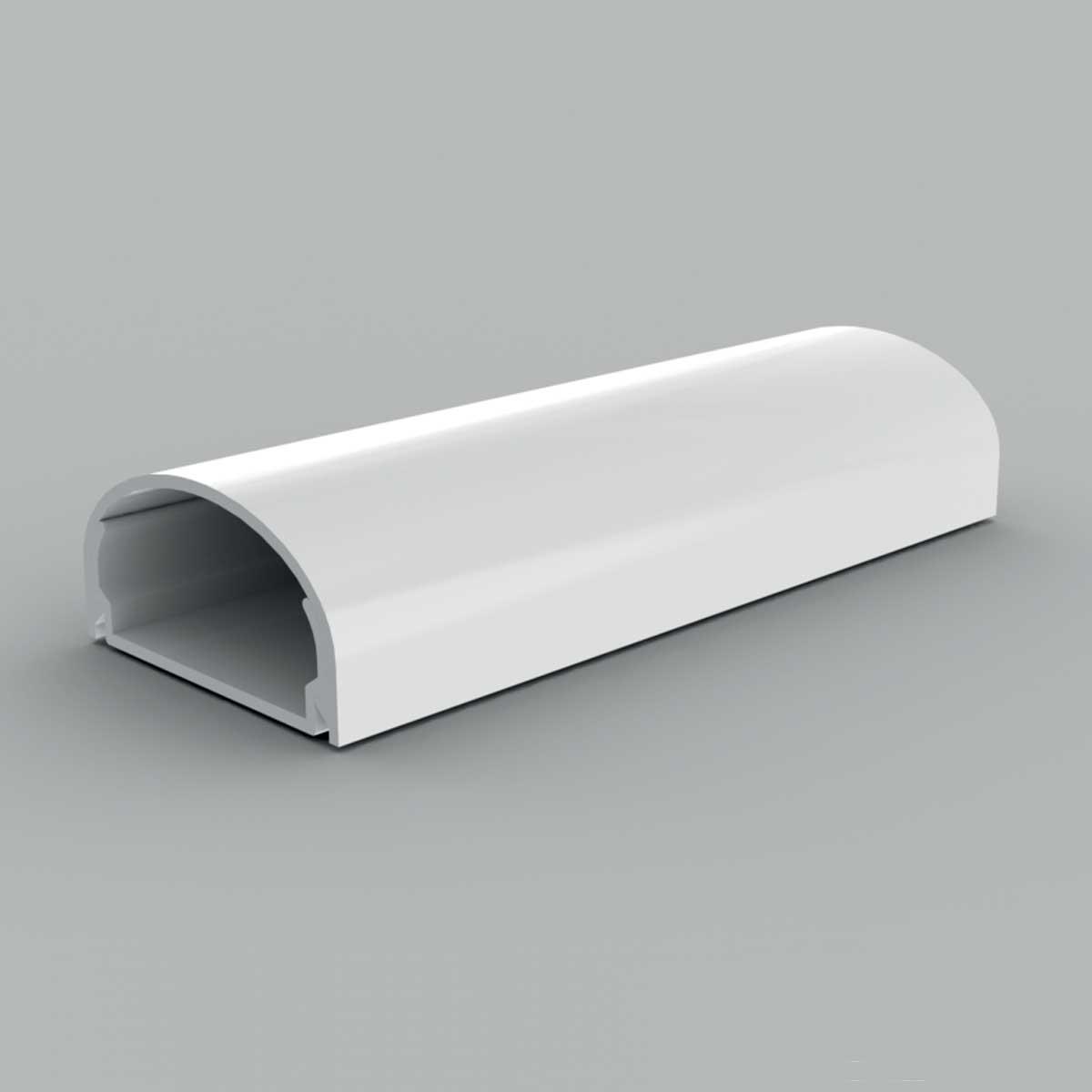 Кабельний канал з ПВХ білого кольору 19х40мм; Серія LЕ Елегант; ПВХ