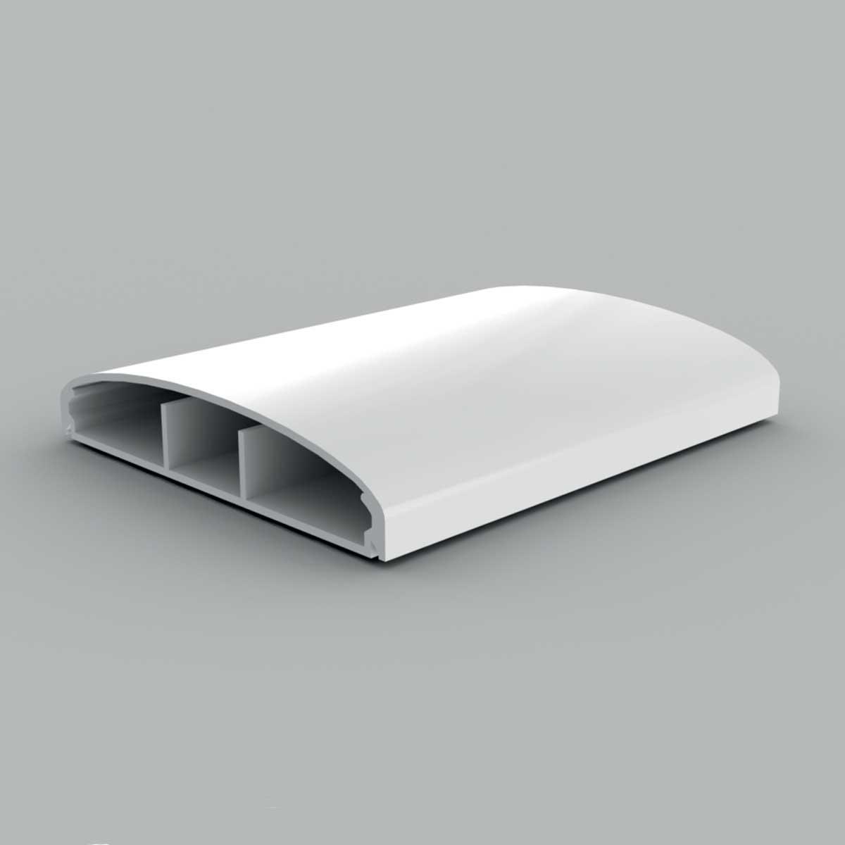 Кабельний канал з ПВХ білого кольору21х100мм; Серія LЕ Елегант; ПВХ