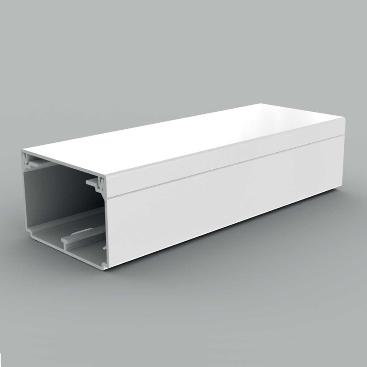 Кабельний канал з ПВХ білого кольору з двома перегородками; 60х40мм; Серія LH; ПВХ