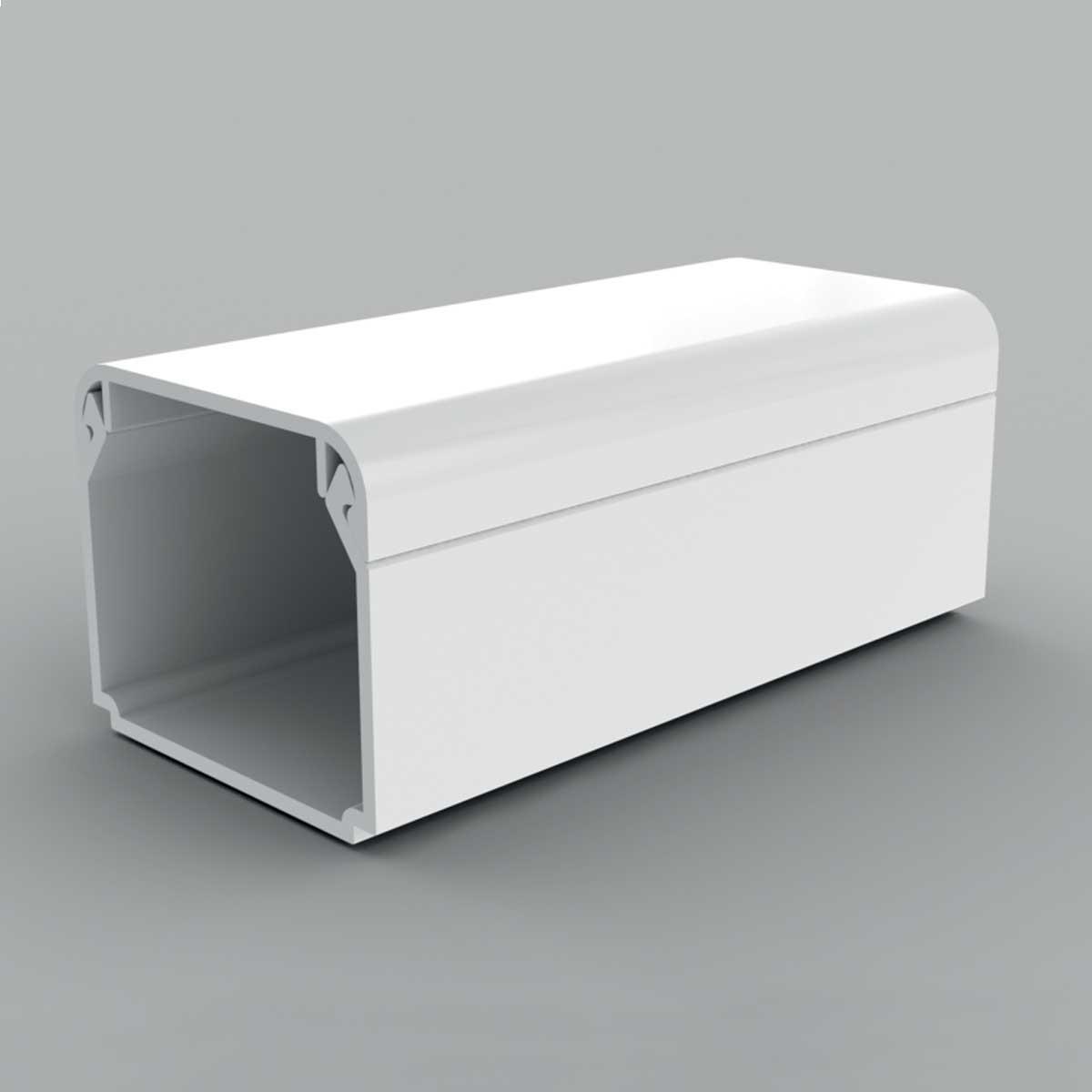 Кабельний канал з ПВХ білого кольору 30х25мм; Серія LH;