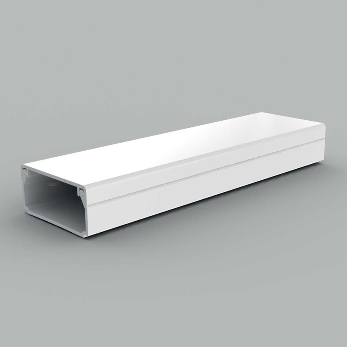 Кабельний канал з ПВХ білого кольору 32х15мм; Серія LH; ПВХ
