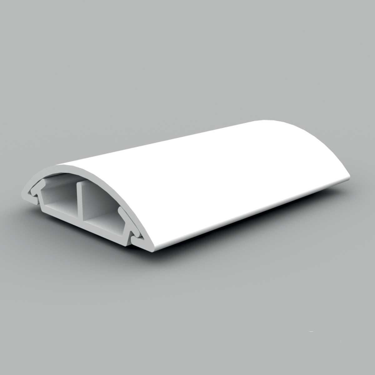 Кабельний канал (білий)   34х10мм; Серія LО для підлоги; ПВХ
