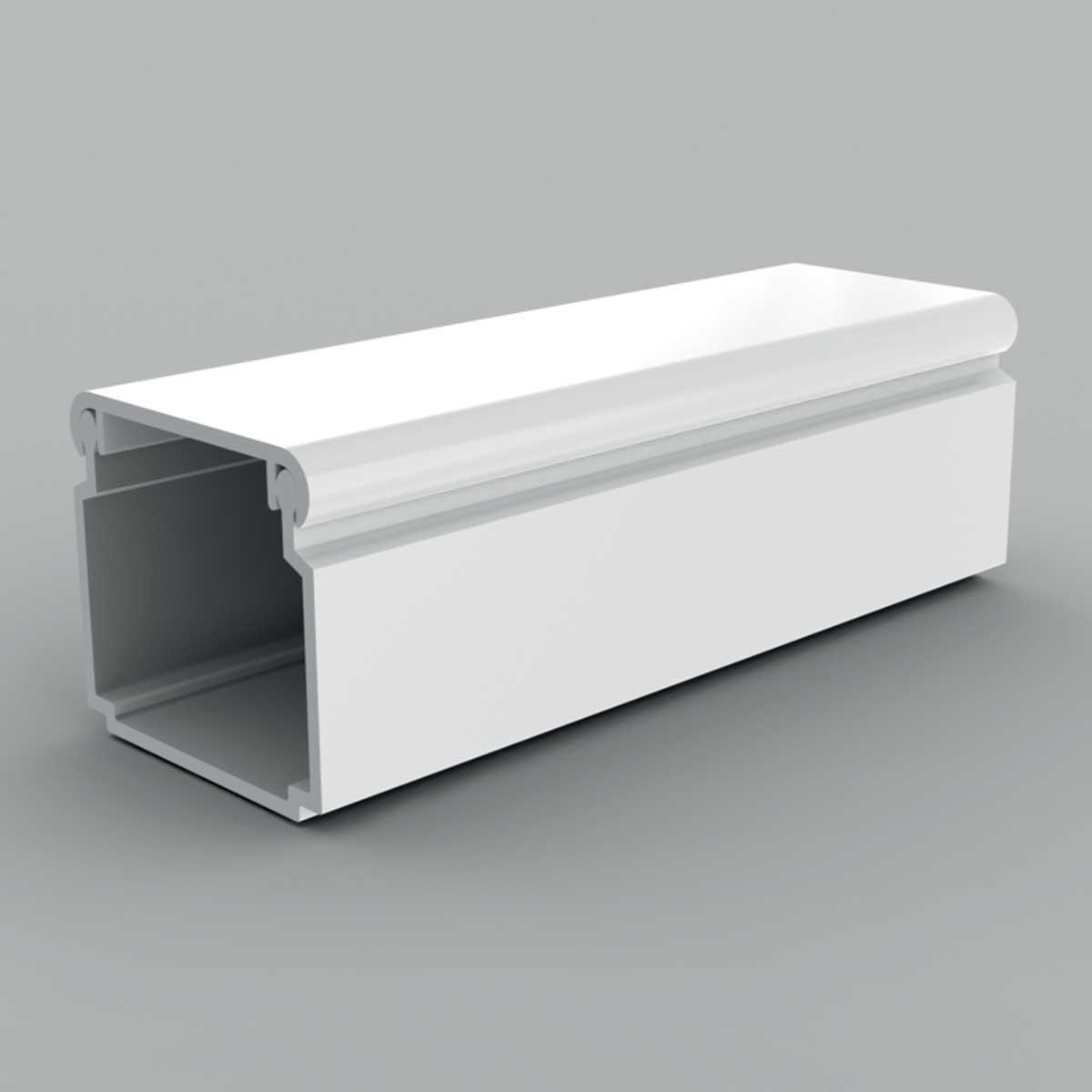 Кабельний канал з ПВХ білого кольору 24х22мм; Серія LV;