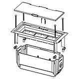 Коробка в пустотілі основи (світло-сірого кольору)KOPOBOX MINI , фото 2