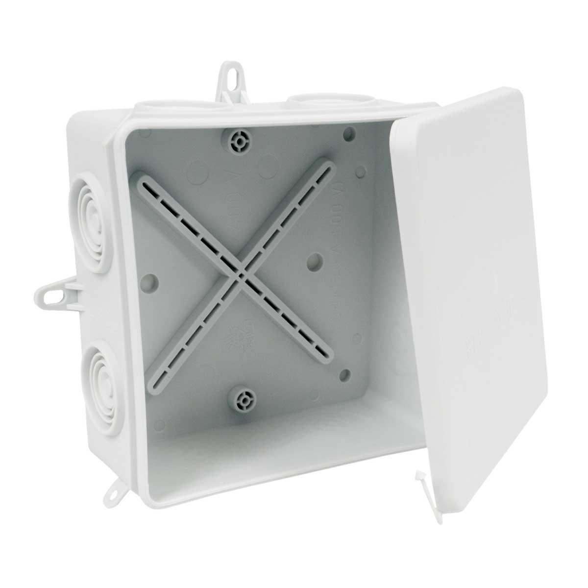Коробка, IP 54 для зовнішнього монтажу; розміри 110х110х52мм