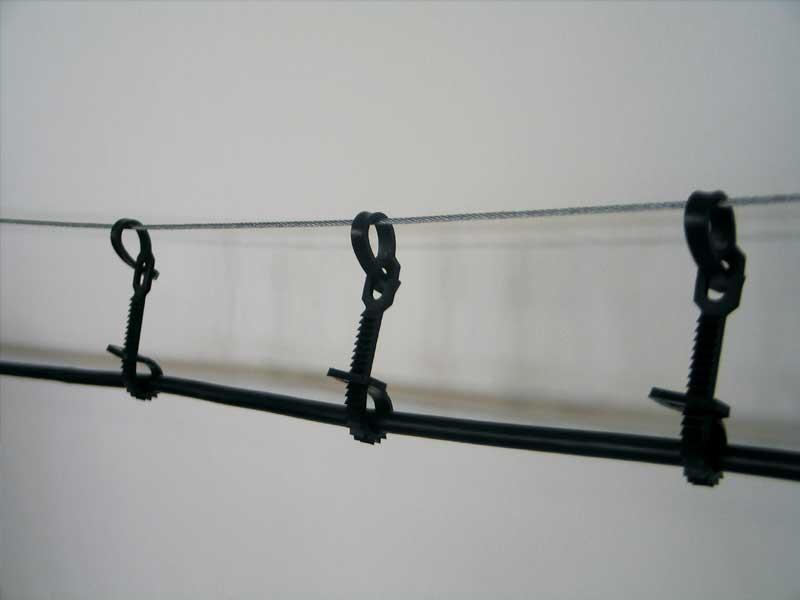 Зовнішній тримач для тросу (діаметр кабеля 8-18мм)
