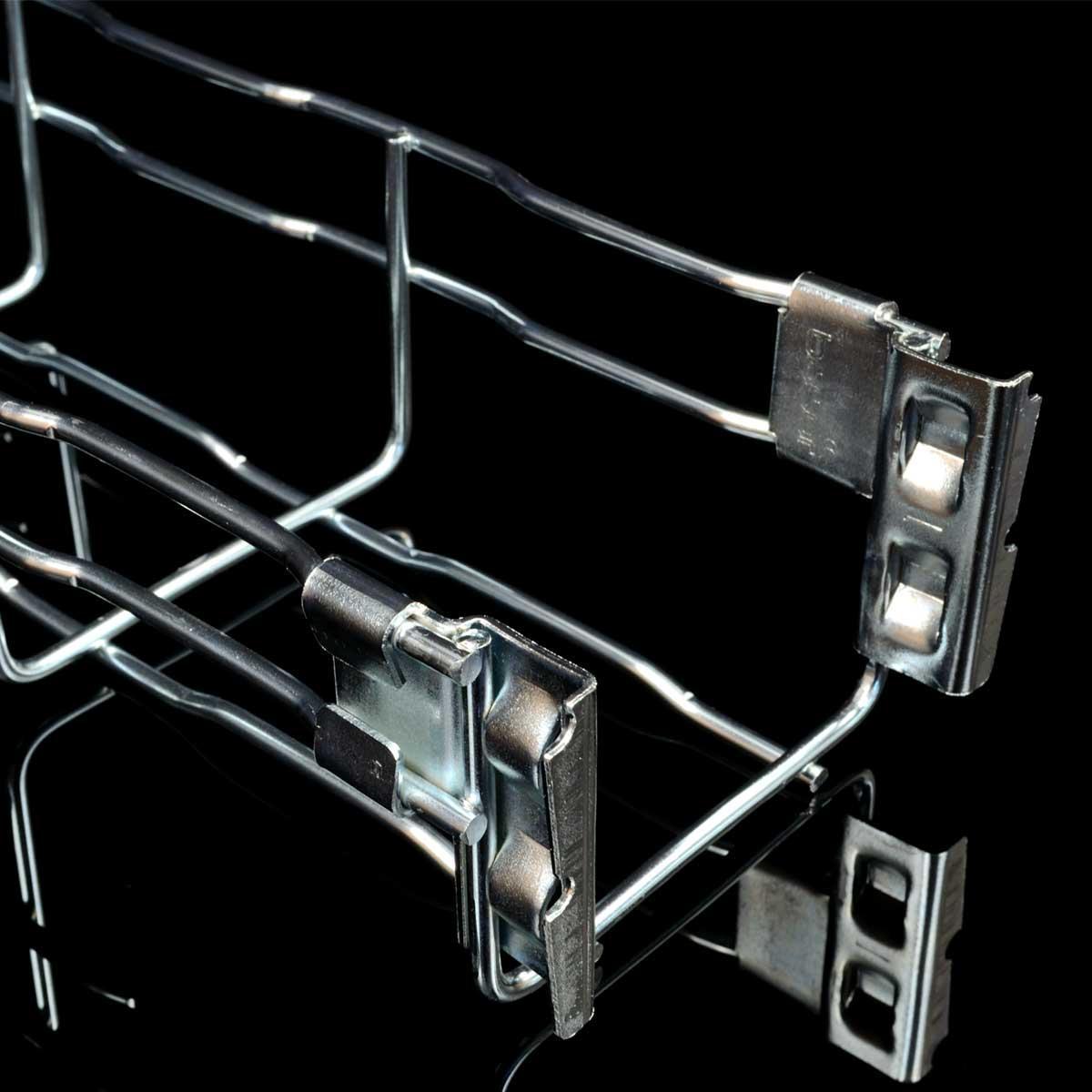 Лоток кабельний сітчатий KOPOS; розміри-60x100x3000mm Товщ. метал-4 Вага-0,79кг/м