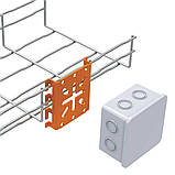 Монтажна панель для коробок  для сітчатого лотка KOPOS, фото 2